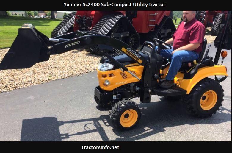 Yanmar Sc2400 Price, Specs, Review, Attachments