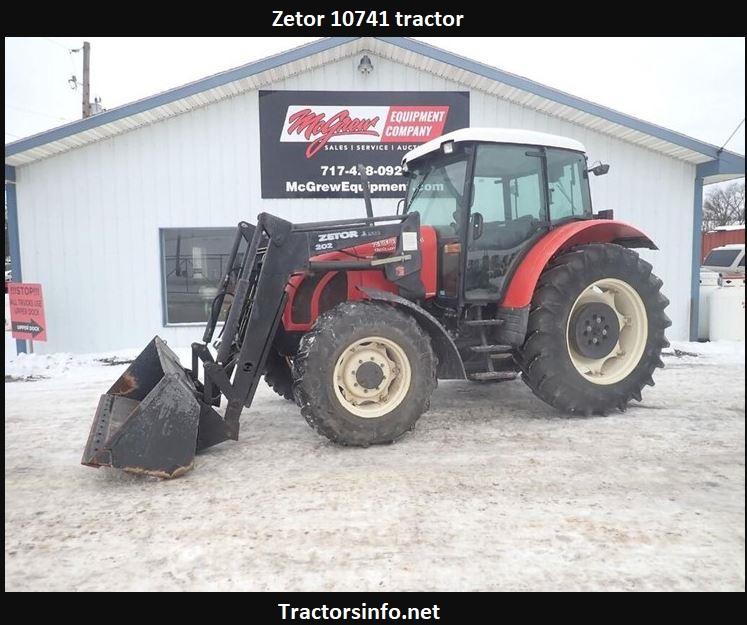 Zetor 10741 Price, Specs, Review, Attachments
