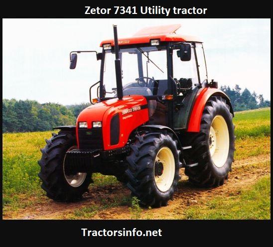 Zetor 7341 Price, Specs, Review, Attachments