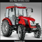 Zetor Major 60 Utility Tractor Price, Specs, Review