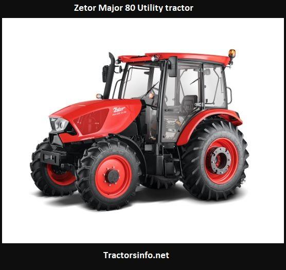 Zetor Major 80 Utility Tractor Price, Specs, Review