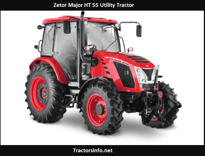 Zetor Major HT 55 Utility Tractor Price, Specs, Review