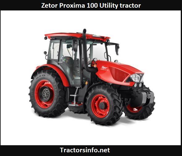 Zetor Proxima 100 Price, Specs, Review, Attachments
