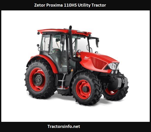 Zetor Proxima 110HS Utility Tractor Price, Specs, Review