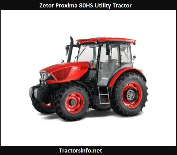 Zetor Proxima 80HS Utility Tractor Price, Specs, Review