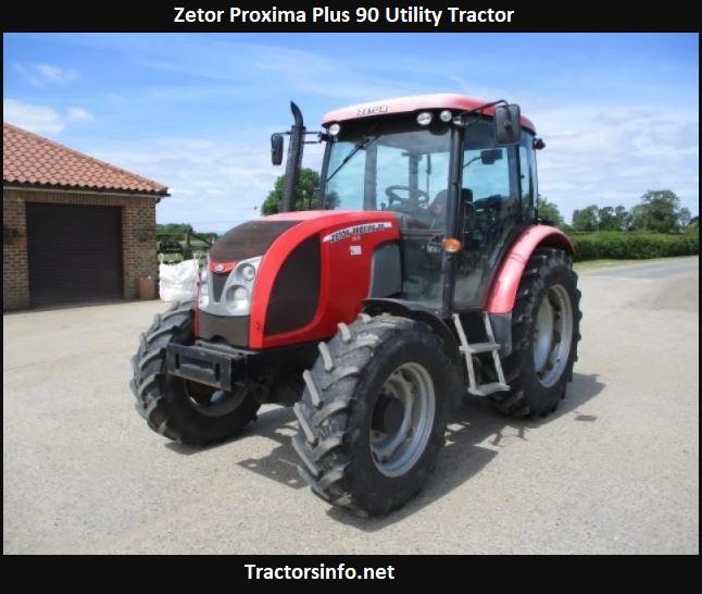 Zetor Proxima Plus 90 Utility Tractor Price, Specs, Review